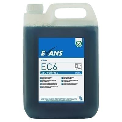 Evans EC6  All Purpose Interior Hard Surface Cleaner 5LTR