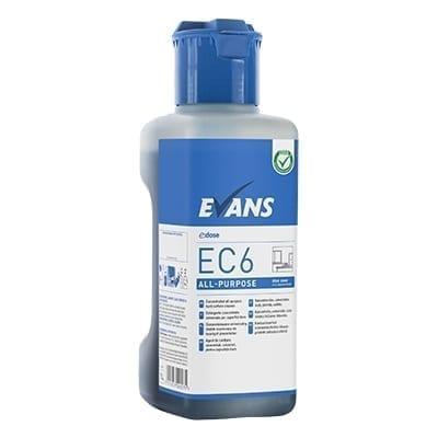 Evans EC6 All Purpose Interior Hard Surface Cleaner 1LTR