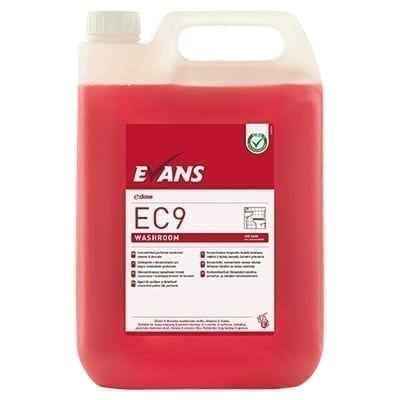 Evans EC9 Washroom Bactericidal Cleaner And Descaler 5LTR