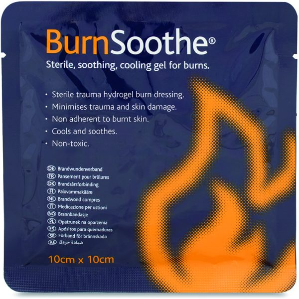 BurnSoothe Burn Dressings 10x10CM
