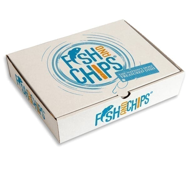 Fish N Chip Boxes X 250 MP10