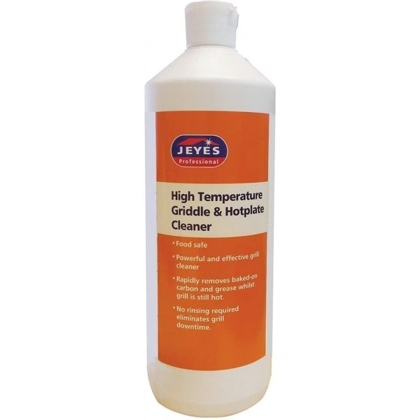 Jeyes Professional C37 High Temperature Griddle & Hotplate Cleaner 1LTR X 6