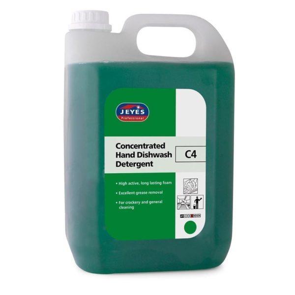 Jeyes Professional C4 Hand Dishwash Detergent 5LTR