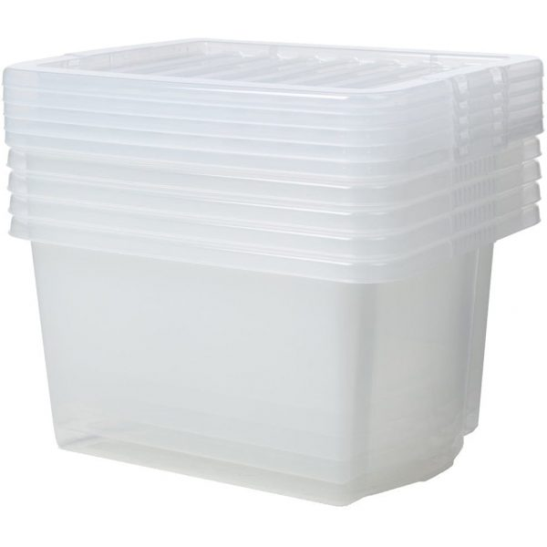 Crystal Box & Lid CLEAR 16LTR