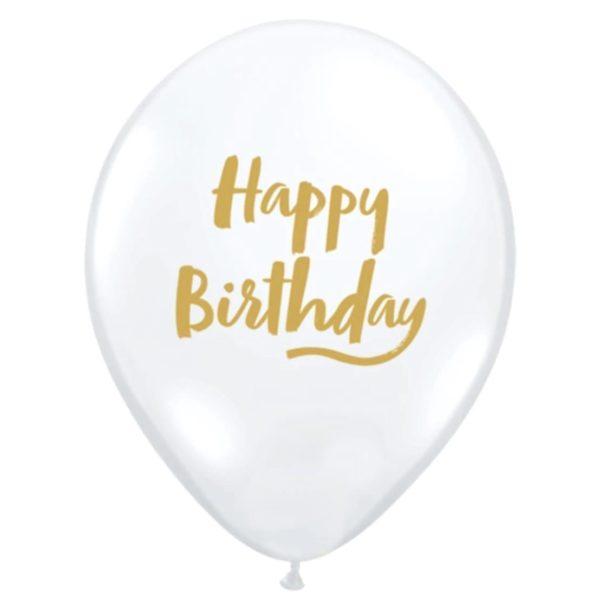 Happy Birthday Balloons X 15