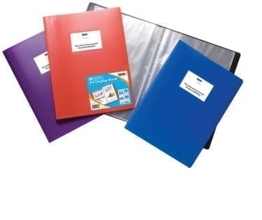 Flexi Display Book Assorted A4 40 X 12