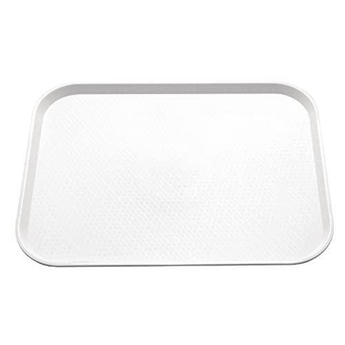 Food Trays Large Polystrene WHITE X 200