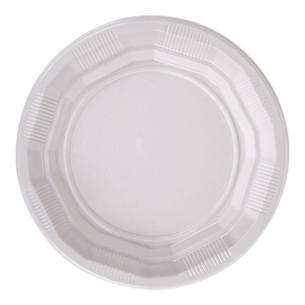 Choice Dining Plastic Plates 7'' 20 X 50