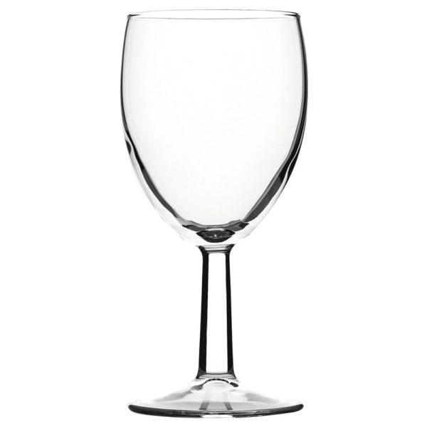 Plastic Wine Glasses 175cc X 8 X 24 Units