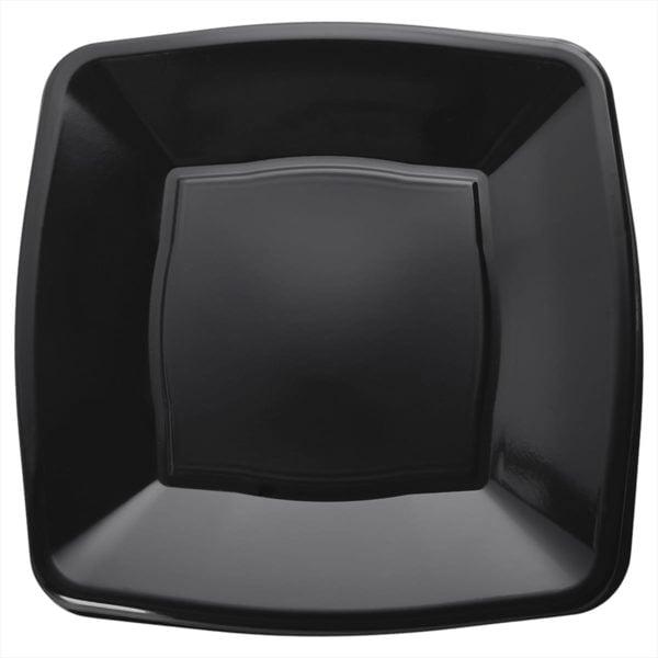 Mashers Square plates BLACK 7''  Plastic X 240