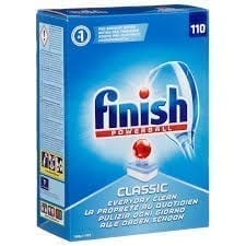 Finish Dishwasher Tablets Powerball 110 Tablets X 4