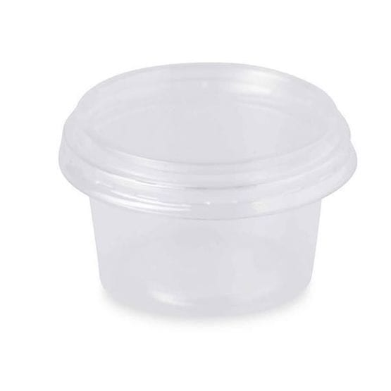 Lids For Clear 6 Compartment Container Plastic  10''