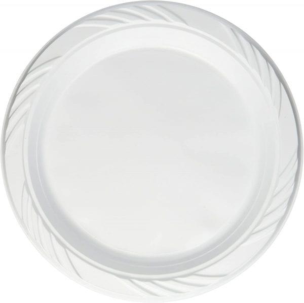 Choice Dining Plates Plastic 7'' 40 X 50