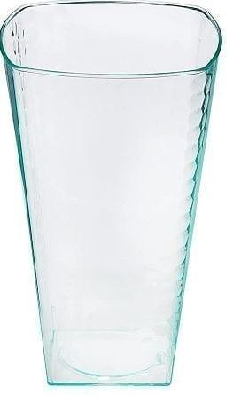 Tumbler Clear Plastic Cups Square  10OZ X 14