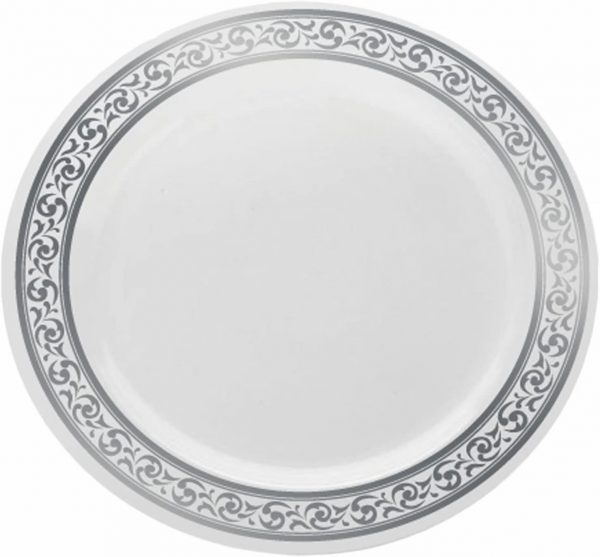 Plates CREAM/GOLD 7''  X 10