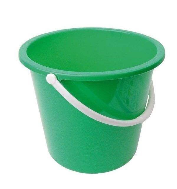 Homeware Bucket GREEN 10LTR Plastic