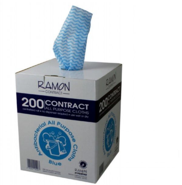 Ramon Contract All Purpose Cloths BLUE 37x22CM X 200