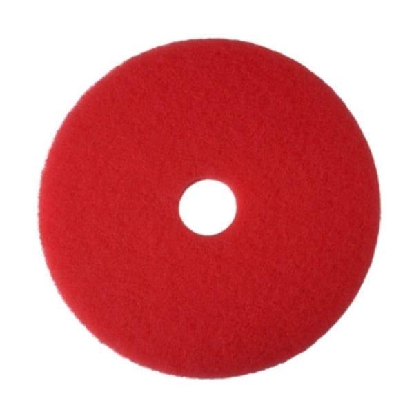 Floor Pads RED 10''   X 5 3M