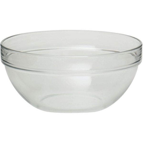Serving Bowl Round Crystal Touch 32OZ