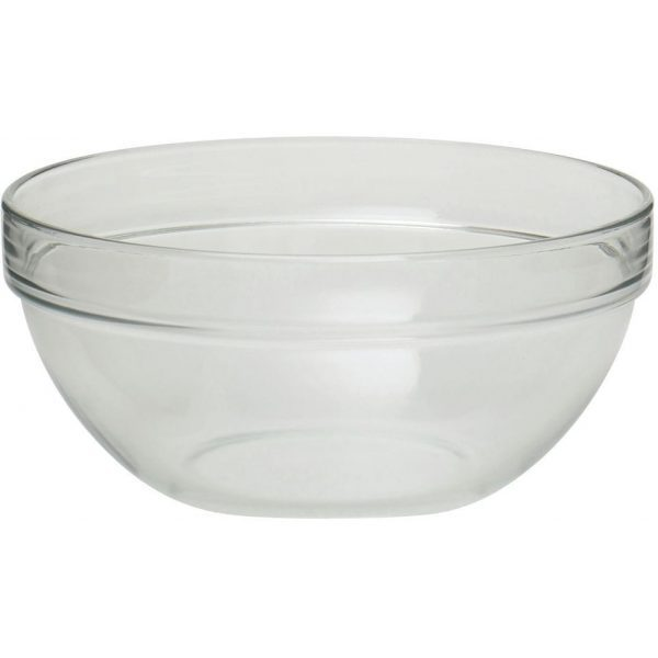 Serving Bowl Round Crystal Touch 64OZ