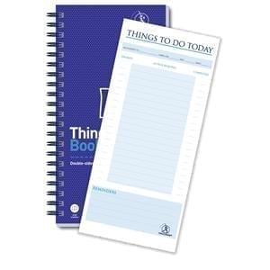 Challenge Wirebound Admin Book 115 Double Sided Planner 280x141mm