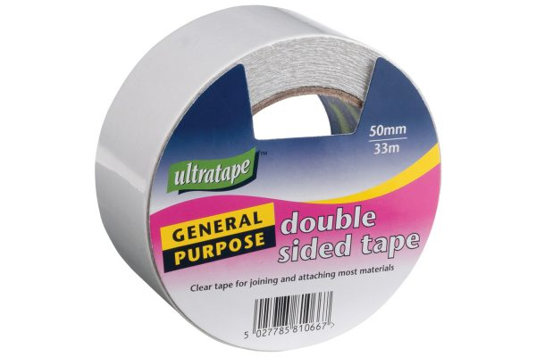 Tape Double Sided 50mmX4.5m X 12