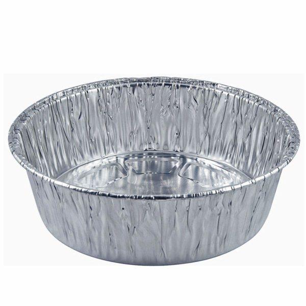Aluminium Container Extra Deep Round 10'' X 200