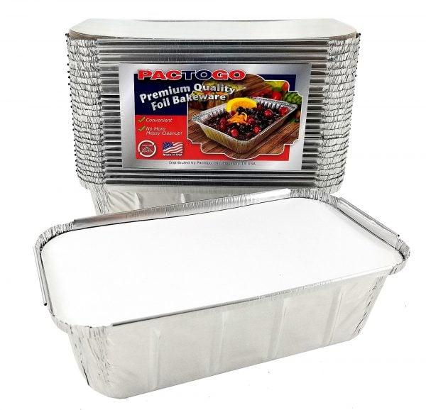 Foil Container With Lids Aluminium 4.5L