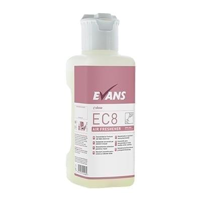 Evans EC8 Air Freshener and Fabric Deodoriser 1LTR