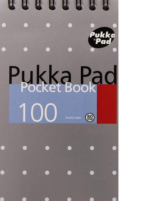 Pukka Pad Mix Mettalic Pocket Book A7 8 X 6