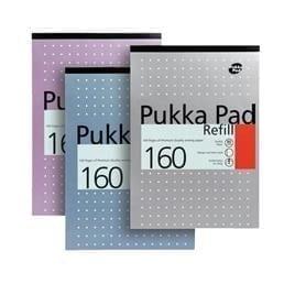 Pukka Refill Pad 160 WHITE A4 X 6
