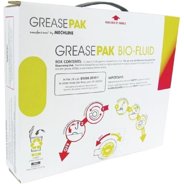 Mechline GreasePak Dosing Fluid 3 X 5 LTR