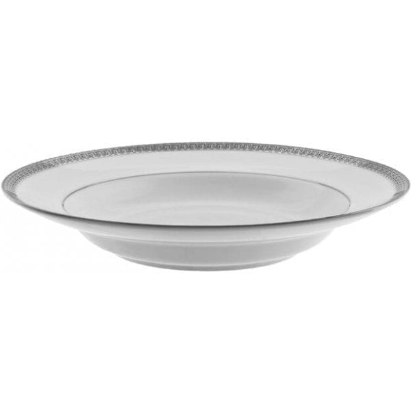 Silver-Touch Hammered Collection Bowl SILVER / WHITE 8OZ