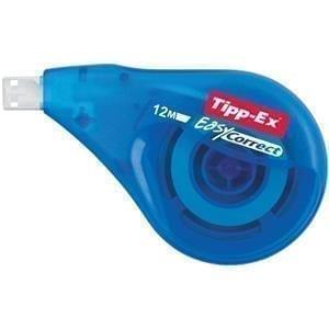 Tipp-Ex EasyCorrect Roller WHITE 12M Long 4.2MM X 10