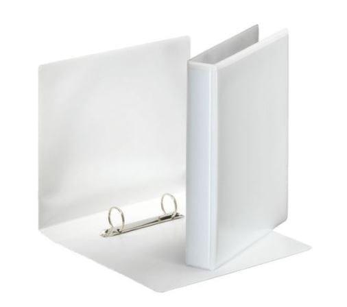 Esselte Presentation Binder 2 D-ring WHITE A5 25mm X 12