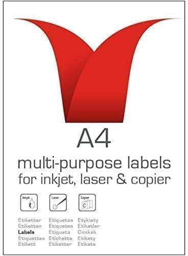 Value Multipurpose Labels 199.6X143.5MM X 200