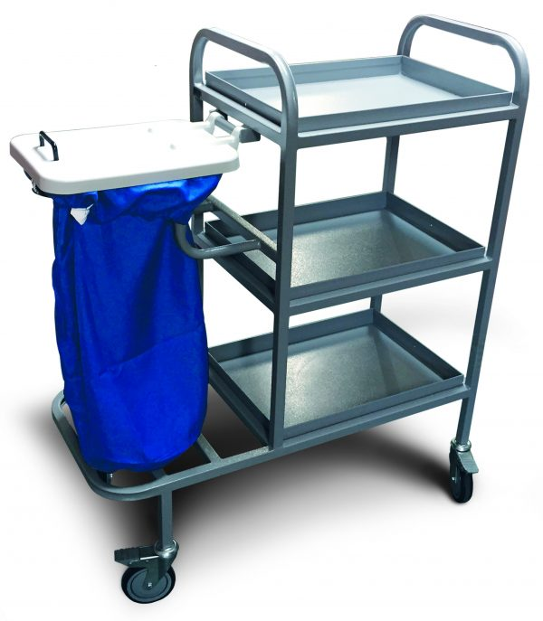 Bristol Maid Bed Changing Trolley WHITE 830x490x1040MM
