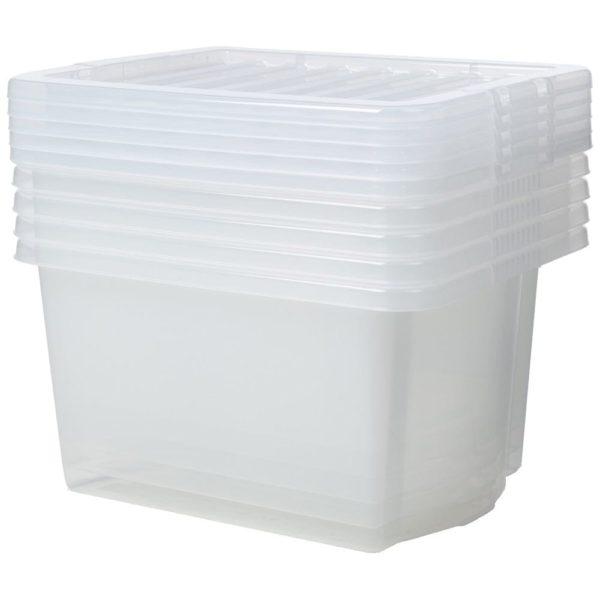 Crystal Box & Lid CLEAR 35 LTR
