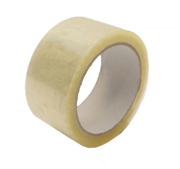 Polyproperlyne Tape CLEAR 24mmx66mm 1'' (72 per box)