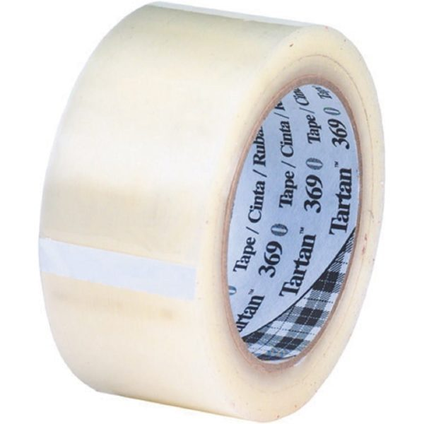 "Polyproperlene Tape CLEAR 48MMx66M 2"" (36 per box)"