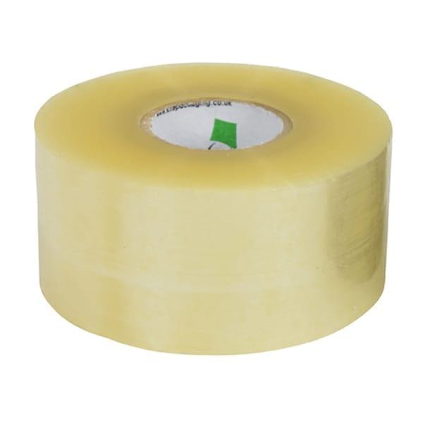 "Polyproperlyne Tape CLEAR 75MMx66M 3"""