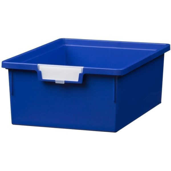 SW Double Depth Tray in PRIMARY BLUE 312x425x157MM