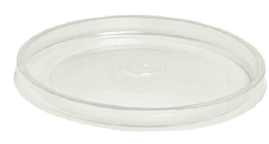Lid for 1.5ltr round clear tubs