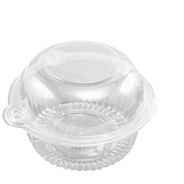 Clear Small Single Cupcake/Muffin Container500