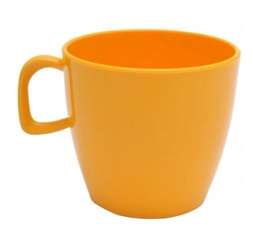 Harfield Polycarbonate Tea Cup 22cl yellow
