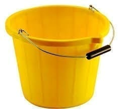 Great British Bucket & Wringer YELLOW 14LTR
