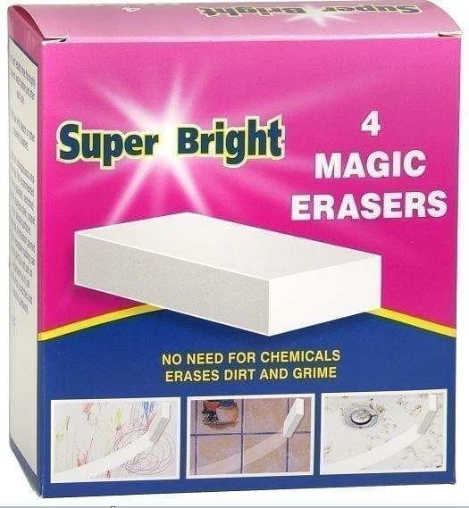 Superbright Magic Eraser 10 X 4PK
