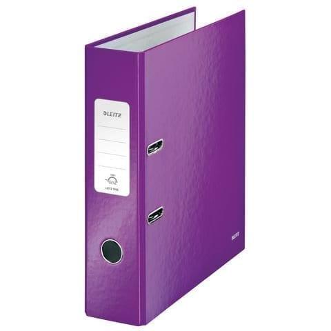 Brights Lever Arch A4 purple (10)