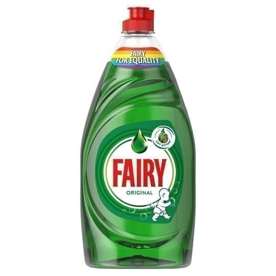 Fairy Liquid Original Pmp 383ml Box Of 10