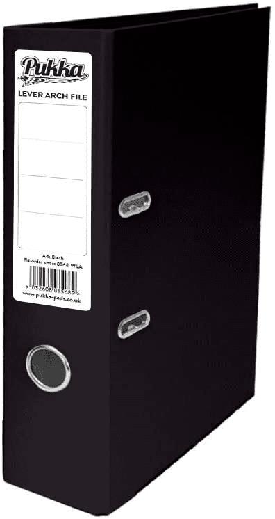 Pukka A4 lever arch black (10)